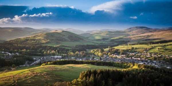 Land use in Scotland Copyright Buccleuch