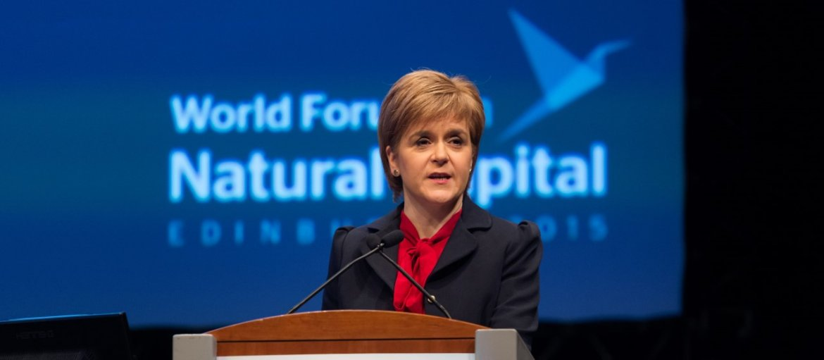 Nicola Sturgeon - World Forum on Natural Capital - Copyright Malcolm Cochrane