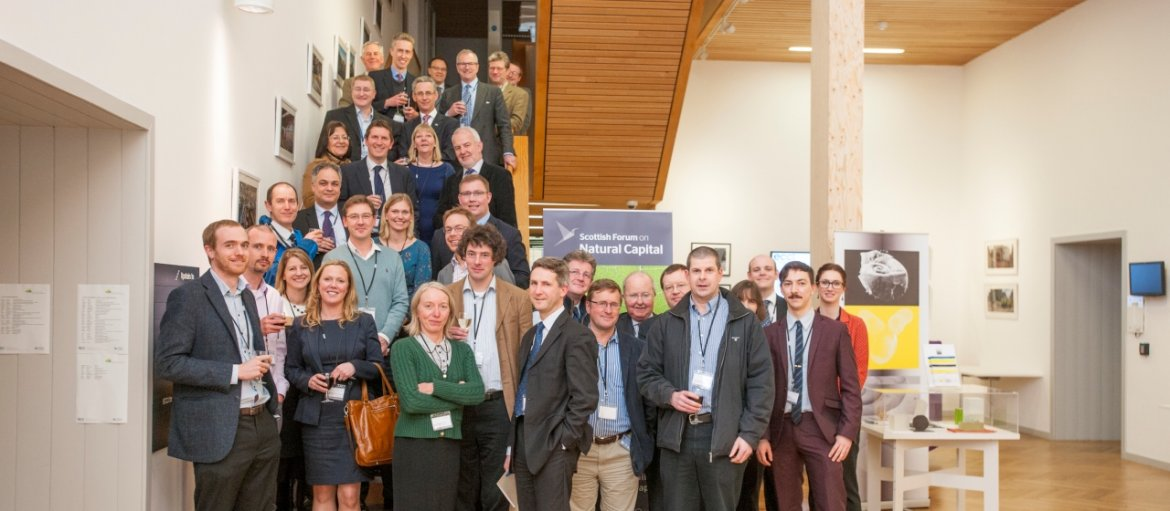 Scottish Forum on Natural Capital First Members Sign-Up - 24th - Stairs